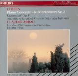 CHOPIN - Arrau - Concerto pour piano et orchestre n°2 en fa mineur op.21