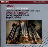 HAENDEL - Chorzempa - Concerto pour orgue en fa majeur op.4 n°5 HWV.293