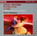 RAVEL - Monteux - Boléro, ballet pour orchestre en do majeur