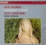 SCHUBERT - Ameling - Heidenröslein (Goethe), lied pour voix et piano op