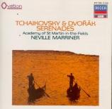 TCHAIKOVSKY - Marriner - Sérénade pour cordes op.48