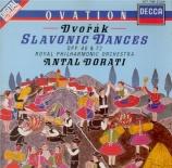 DVORAK - Dorati - Huit danses slaves op.46, version pour orchestre op.46