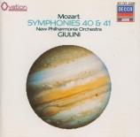 MOZART - Giulini - Symphonie n°40 en sol mineur K.550