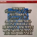 MOZART - Brendel - Quintette pour piano, hautbois, clarinette, cor et ba