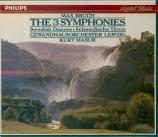 BRUCH - Masur - Symphonies (intégrale)