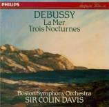 DEBUSSY - Davis - La mer, trois esquisses symphoniques pour orchestre L