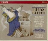 MENDELSSOHN-BARTHOLDY - Sawallisch - Elias, oratorio pour solistes et ch