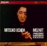 MOZART - Uchida - Sonate pour piano n°2 en fa majeur K.280 (K6.189e)