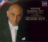 MAHLER - Solti - Symphonie n°7 'Chant de la nuit'