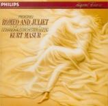 PROKOFIEV - Masur - Romeo et Juliette op.64 : extraits