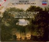 MOZART - Solti - Le nozze di Figaro (Les noces de Figaro), opéra bouffe