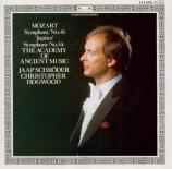 MOZART - Hogwood - Symphonie n°41 en do majeur K.551 'Jupiter'