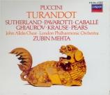 PUCCINI - Mehta - Turandot