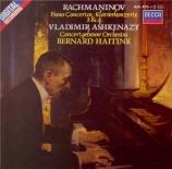 RACHMANINOV - Ashkenazy - Concerto pour piano n°2 en ut mineur op.18
