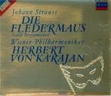 STRAUSS - Karajan - Die Fledermaus (La chauve-souris), opérette WoO RV.5