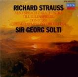 STRAUSS - Solti - Also sprach Zarathustra, poème symphonique pour grand