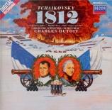 TCHAIKOVSKY - Dutoit - Ouverture pour orchestre en mi bémol majeur op.49