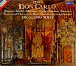 VERDI - Solti - Don Carlo, opéra (version italienne)