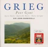 GRIEG - Barbirolli - Peer Gynt : extraits