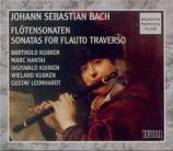 BACH - Kuijken - Sonate pour flûte (ou flûte à bec) et b.c. en mi mineur
