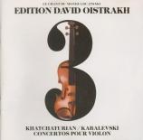 KABALEVSKI - Oistrakh - Concerto pour violon n°1 op.48