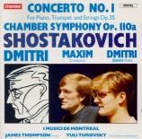 CHOSTAKOVITCH - Turovsky - Concerto pour piano, trompette et orchestre à
