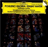 POULENC - Ozawa - Stabat Mater, pour soprano, choeur mixte à cinq voix et