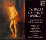 BACH - Herreweghe - Passion selon St Matthieu(Matthäus-Passion), pour s