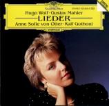 WOLF - Von Otter - Mignon I, pour voix et piano
