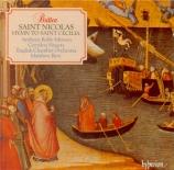 BRITTEN - Best - Saint Nicolas (Crozier), cantate pour solistes, choeur