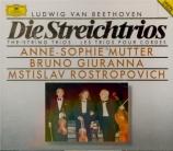 BEETHOVEN - Mutter - Trio à cordes op.3