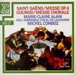 SAINT-SAËNS - Corboz - Messe op.4