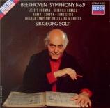 BEETHOVEN - Solti - Symphonie n°9 op.125 'Ode à la joie'
