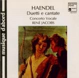HAENDEL - Jacobs - Partì, l'idolo mio, cantate HWV.147