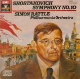 CHOSTAKOVITCH - Rattle - Symphonie n°10 op.93