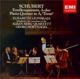 SCHUBERT - Alban Berg Quar - Quintette avec piano en la majeur op.posth