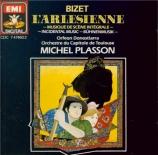 BIZET - Plasson - L'arlésienne, musique de scène pour orchestre WD.28