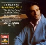 SCRIABINE - Muti - Symphonie n°3 op.43 'Le divin poème'