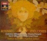 ROUSSEL - Ollmann - Mélodies (intégrale)