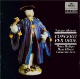 ALBINONI - Holliger - Concerto pour deux hautbois op.7 n°5