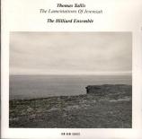 TALLIS - Hilliard Ensemb - Lamentations de Jérémie