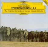SCHUBERT - Abbado - Symphonie n°1 en ré majeur D.82
