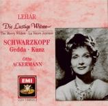 LEHAR - Ackermann - Die lustige Witwe (La veuve joyeuse)