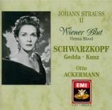 STRAUSS - Ackermann - Wiener Blut (Sang Viennois), valse pour orchestre