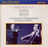 DVORAK - Heifetz - Quintette avec piano en la majeur op.81 B.155 (1887)