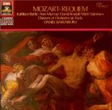MOZART - Barenboim - Requiem pour solistes, chœur et orchestre en ré min
