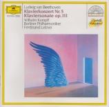 BEETHOVEN - Kempff - Concerto pour piano n°5 en mi bémol majeur op.73 'L