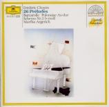 CHOPIN - Argerich - Vingt-quatre préludes pour piano op.28