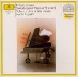 CHOPIN - Argerich - Sonate pour piano n°2 en si bémol mineur op.35
