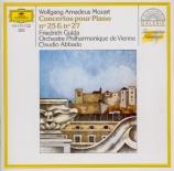 MOZART - Gulda - Concerto pour piano et orchestre n°25 en do majeur K.50